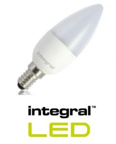 Candle LED E14 Bulb | 25 - 40 Watt Equivalent I Non-Dimmable Frosted Lamp